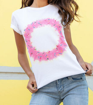 How To Make a Donut Tie-Dye Shirt