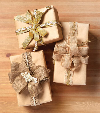 Make Gift Wrapped Boxed with Trim
