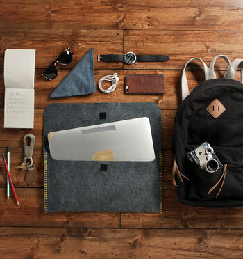 How to Sew a Felt Laptop Sleeve