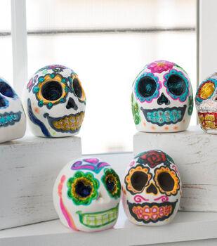 How To Make Model Magic Sugar Skulls