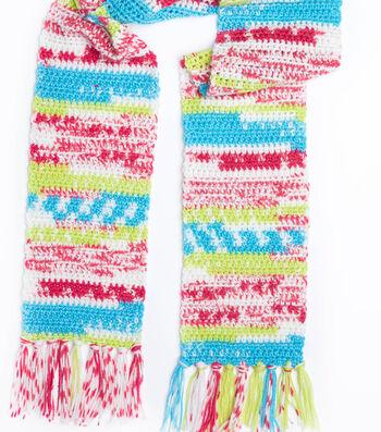 How To Make A Faux Fair Isle Crochet Scarf