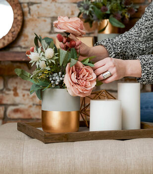How To Make a Moody Pastel Arrangements