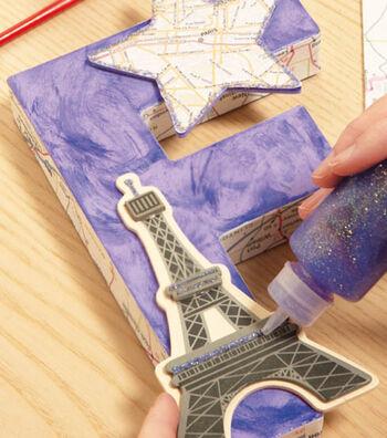 France Paper Mache Letter