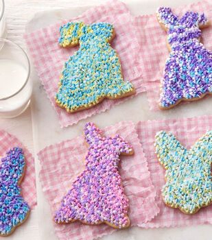 How To Make Shag Piping Bunny Cookies