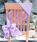 Stretch Taffeta Chair Bow