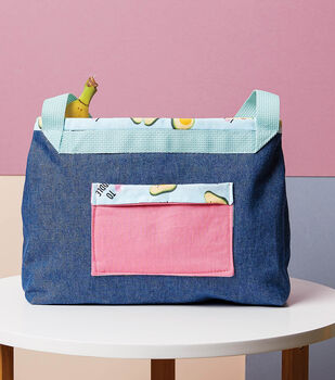 How To Make a Reusable Denim Lunch Bag