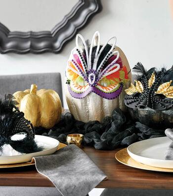How To Make A Halloween Mask Pumpkin