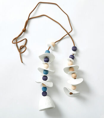 How To Make a Wood Bead Wall Hanging