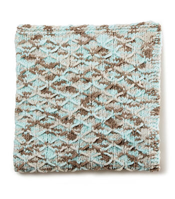 How To Make A Knit Lattice Baby Blanket