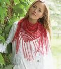 Bernat Handicrafter Crochet Thread Triangle Scarf