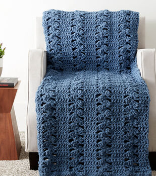 How To Make A Cluster Panels Crochet Blanket