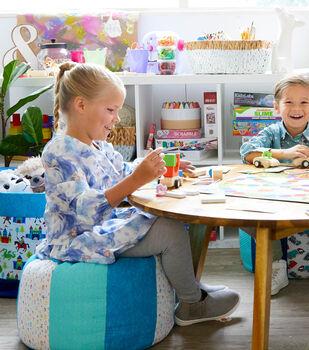 How To Make A Playroom Stools