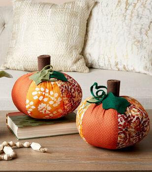How To Make a Fabric Pumpkins