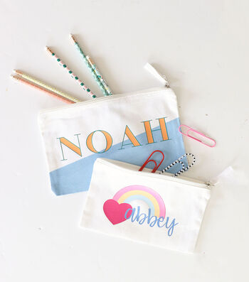 How To Make Personalized Zipper Pouches
