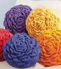 Fleece Chrysanthemum Pillow