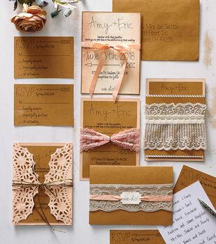 Make Romantic Wedding Invitations