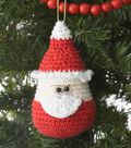 Sugar \u0027n Cream Santa Ornament