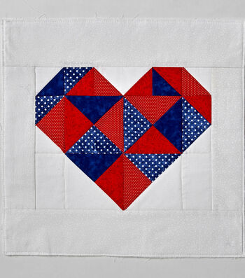 How to Make a Quilt Heart