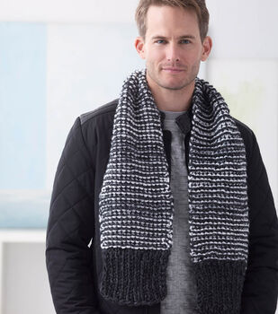 How To Make A Wool-Ease Thick & Quick Twilington Scarf