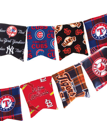 MLB Fleece Banner