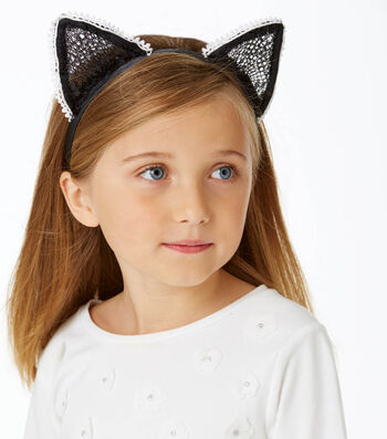 How To Make A Cat Ear Headband With Trim