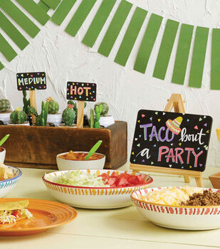 How To Make Taco Party Chalkboard Signs