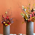How To Make Tall Fall Floral Arrangements