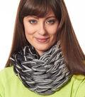 Grey Arm Knit Cowl