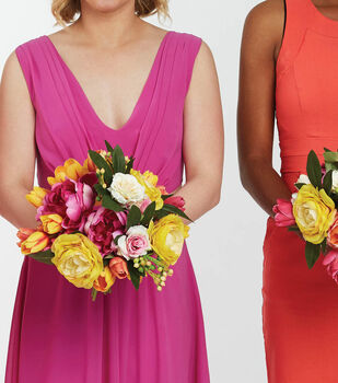 How To Make a Color Rich Bridal Bouquets