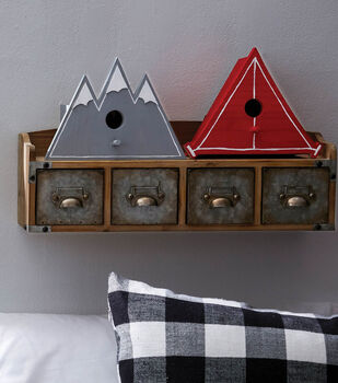 How To Make a Trail Map Bird Houses