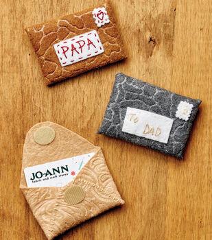How To Make Felt Gift Card Holders