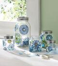Modern Blossom Glass Canister Set