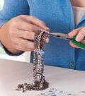 Mixed Metal Dangle Bracelet