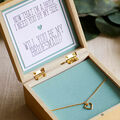 How To Make a Bridesmaid Proposal Jewelry Box and Necklace