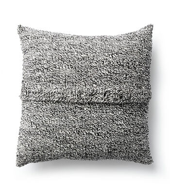 How To Make A Bamboo Knit Stitch Pillow
