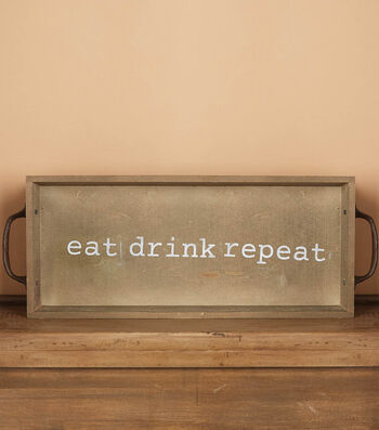 How to Make a Eat Drink Repeat Tray
