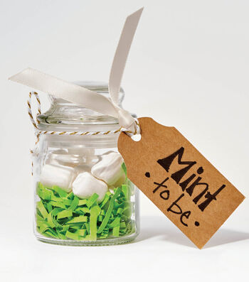 How To Make Mint To Be Favor Jars