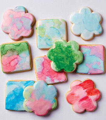 How To Make Water Colored Sugar Cookies