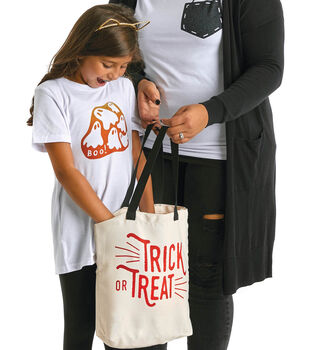 How To Make A Halloween Infusible Ink T-shirts and Tote