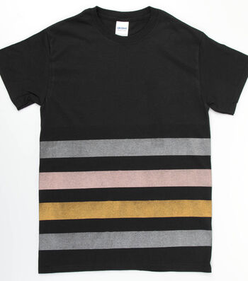 How To Make a Stylin' in Stripes T-Shirt