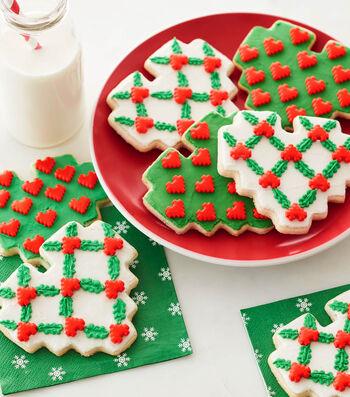 How To Make Lattice 8 Bit Heart Cookies