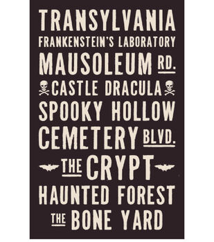 Scary Places Printable