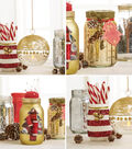 Makers Guide: Holiday Glass Jars
