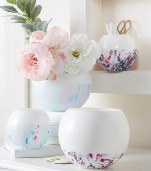 How To Make A Marble Bottom Vase