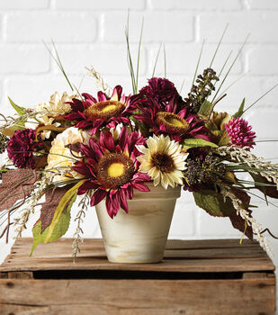 Floral Arrangement in Container