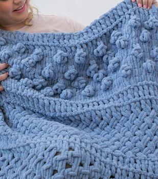 How to Make a Bernat Alize EZ Multi Texture Afghan