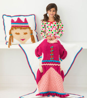How To Crochet A Nite Princess Afghan and Pillow