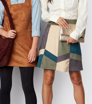 How To Make A Color-Blocked Skirt