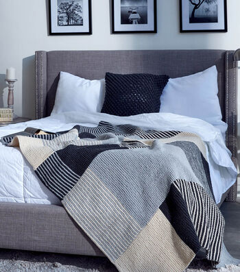 How To Knit An Essential Stripes Knit Blanket