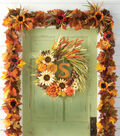 Fall Wheat Garland and Wreath